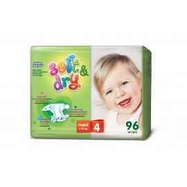 Детские подгузники Helen Harper Soft & Dry Maxi (7-18кг) 96шт