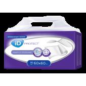 Пеленки одноразовые впитывающие iD PROTECT 60X60